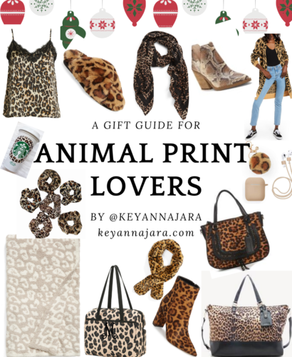 A 2019 Animal Print Lover Gift Guide