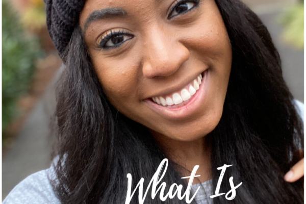 A happy girl sharing her microbladed eyebrows, what microblading is about, and everything that you need to know about microblading!