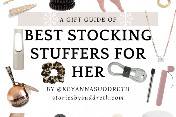 2020 Holiday Gift Guides | Stocking Stuffers For Her