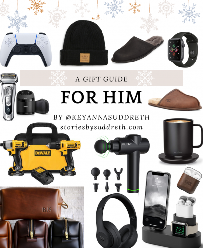 Best Gift Ideas for the Men In Your Life- Holiday Gift Guide for Him 2020