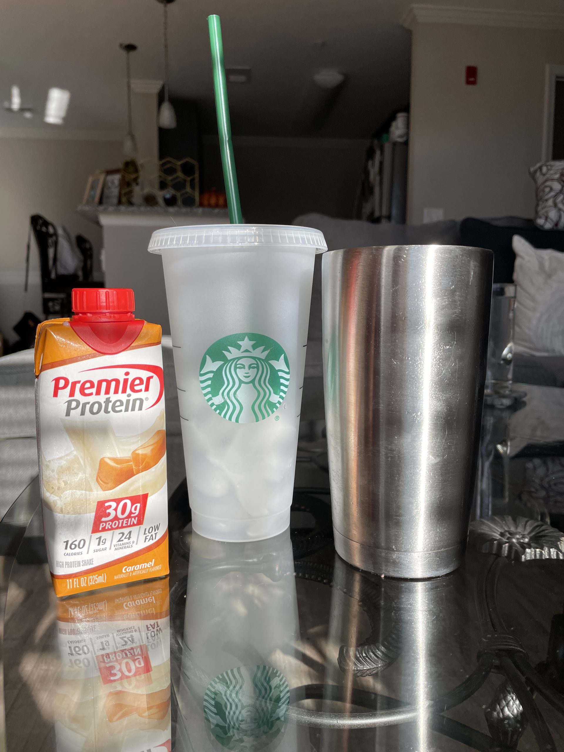 How to Make A Caramel Iced Coffee With Protein At Home