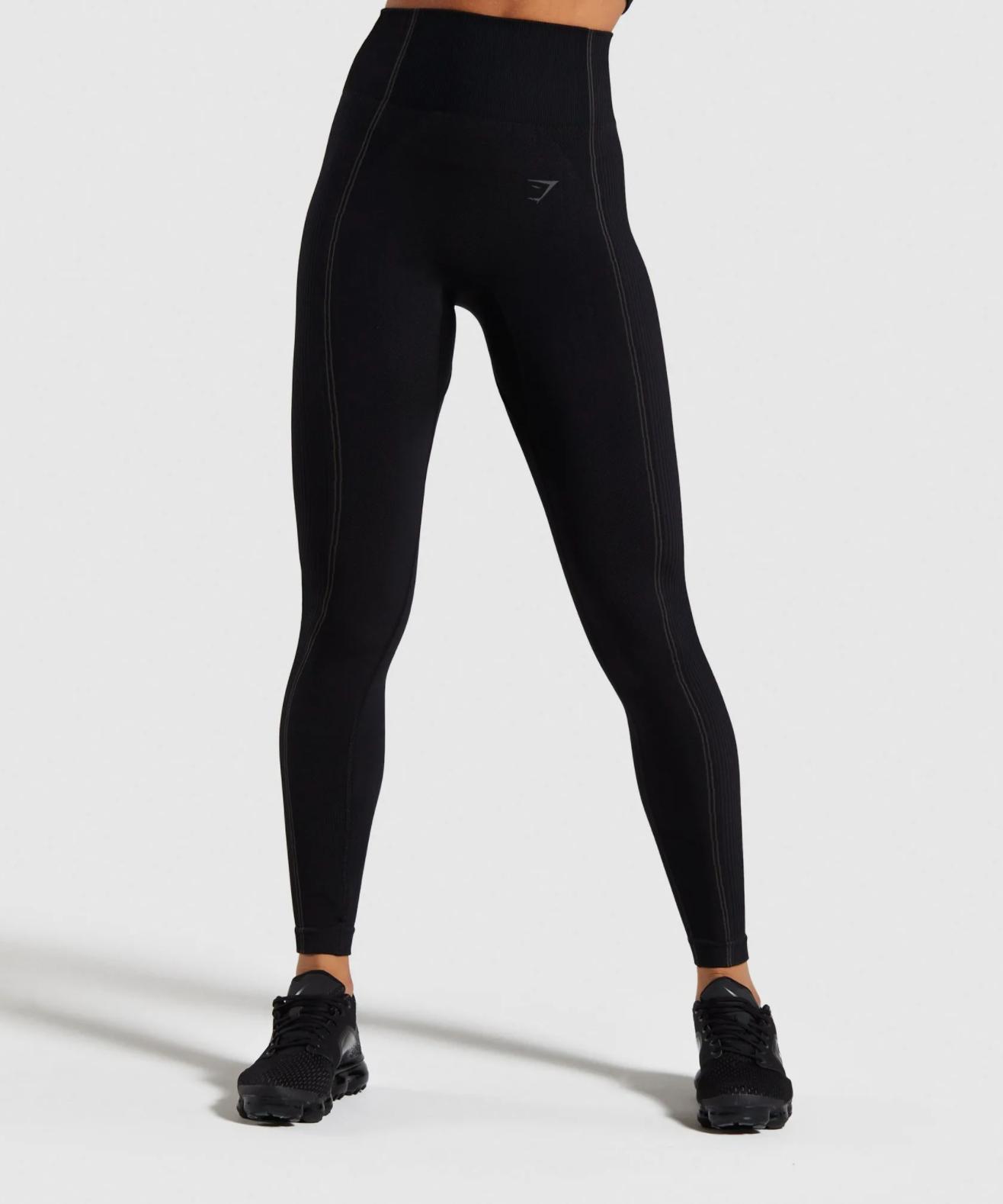 """Gymshark Ultra Seamless Leggings in """"Black"""""""