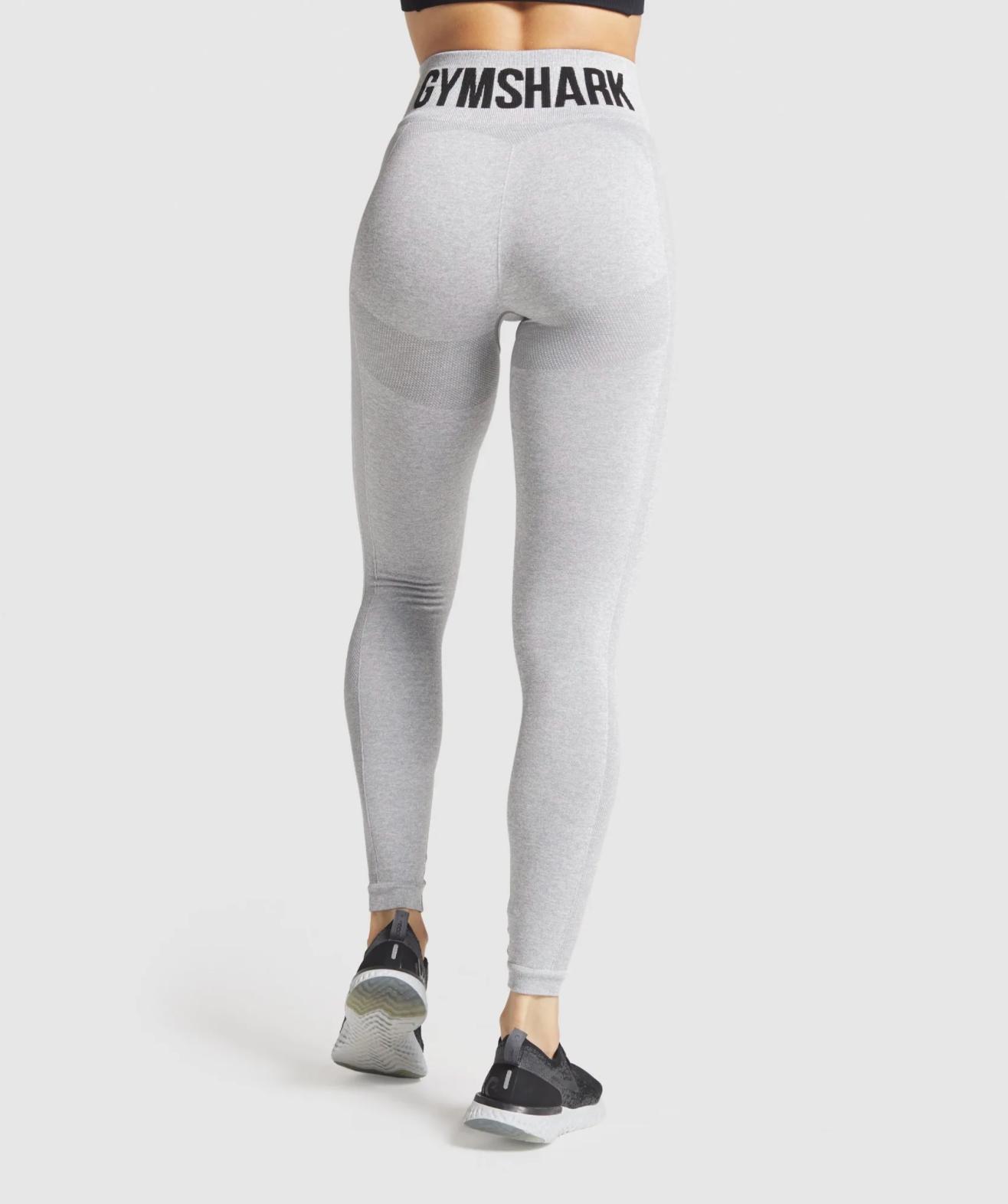 Gymshark flex high waisted leggings light grey